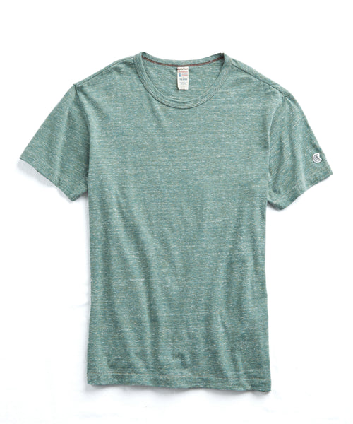 Japanese Triblend Tee in Green