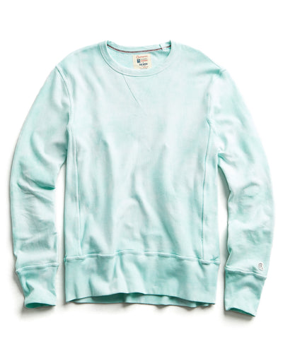 48fe70b6 Champion Tie Dye Sweatshirt in Minty Green