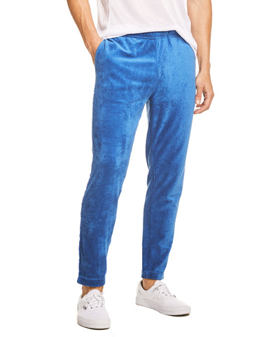 Terry Track Pant in Regent Blue