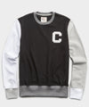 Color Block Sweatshirt in Black
