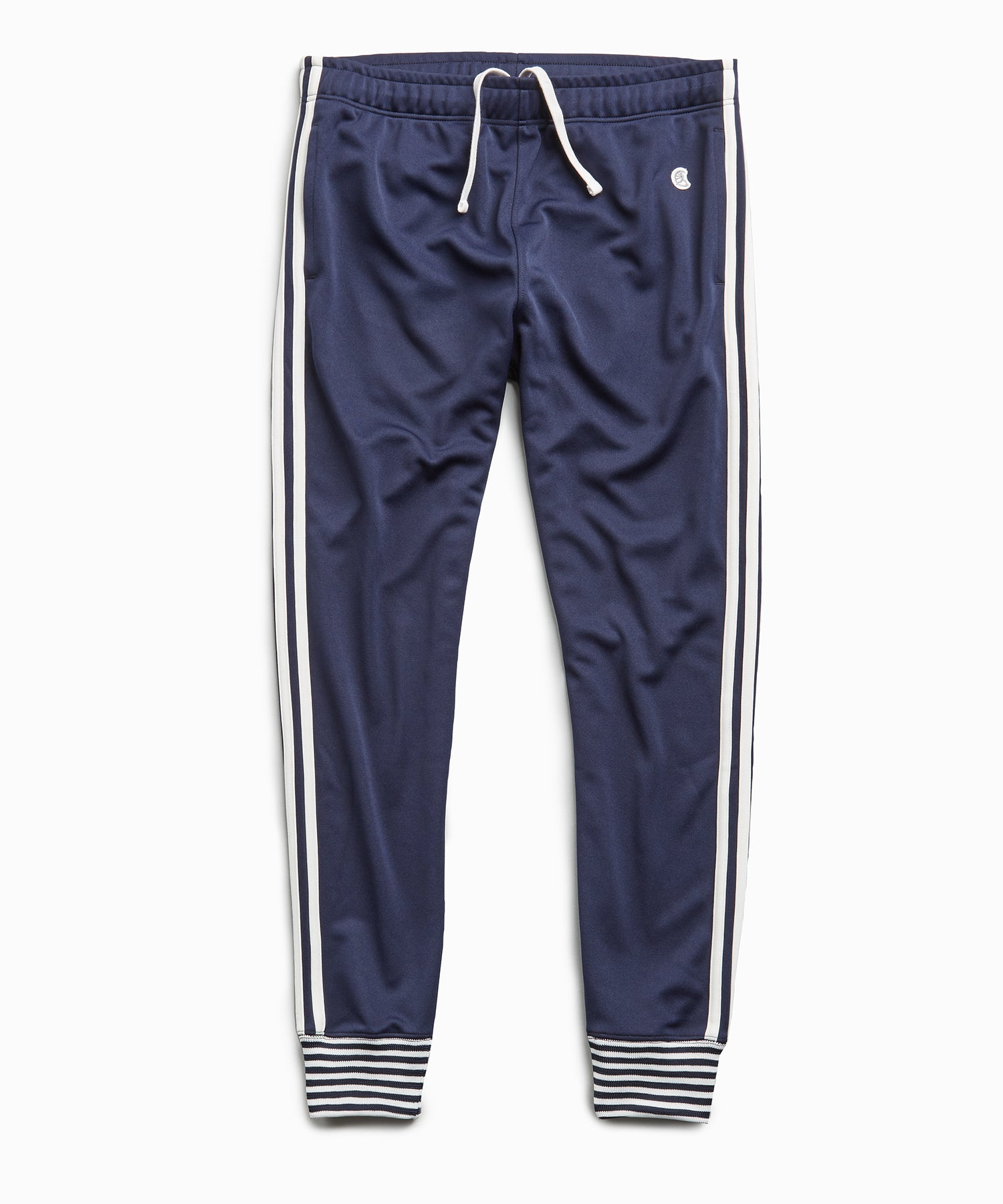 Japanese Tipped Track Pant in Navy