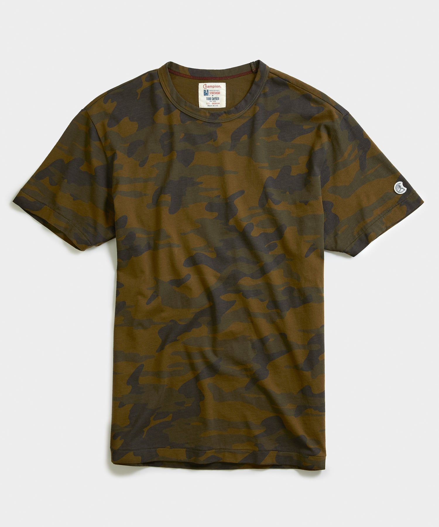 Camo Tee Shirt in Fatigue