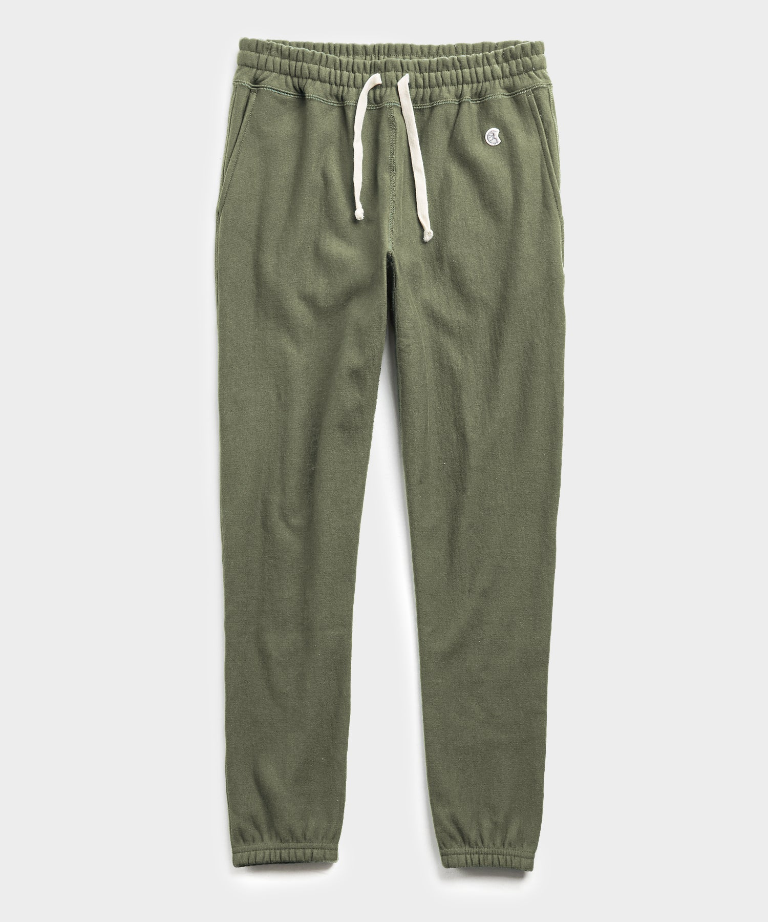 Terry Classic Sweatpant in Washed Olive