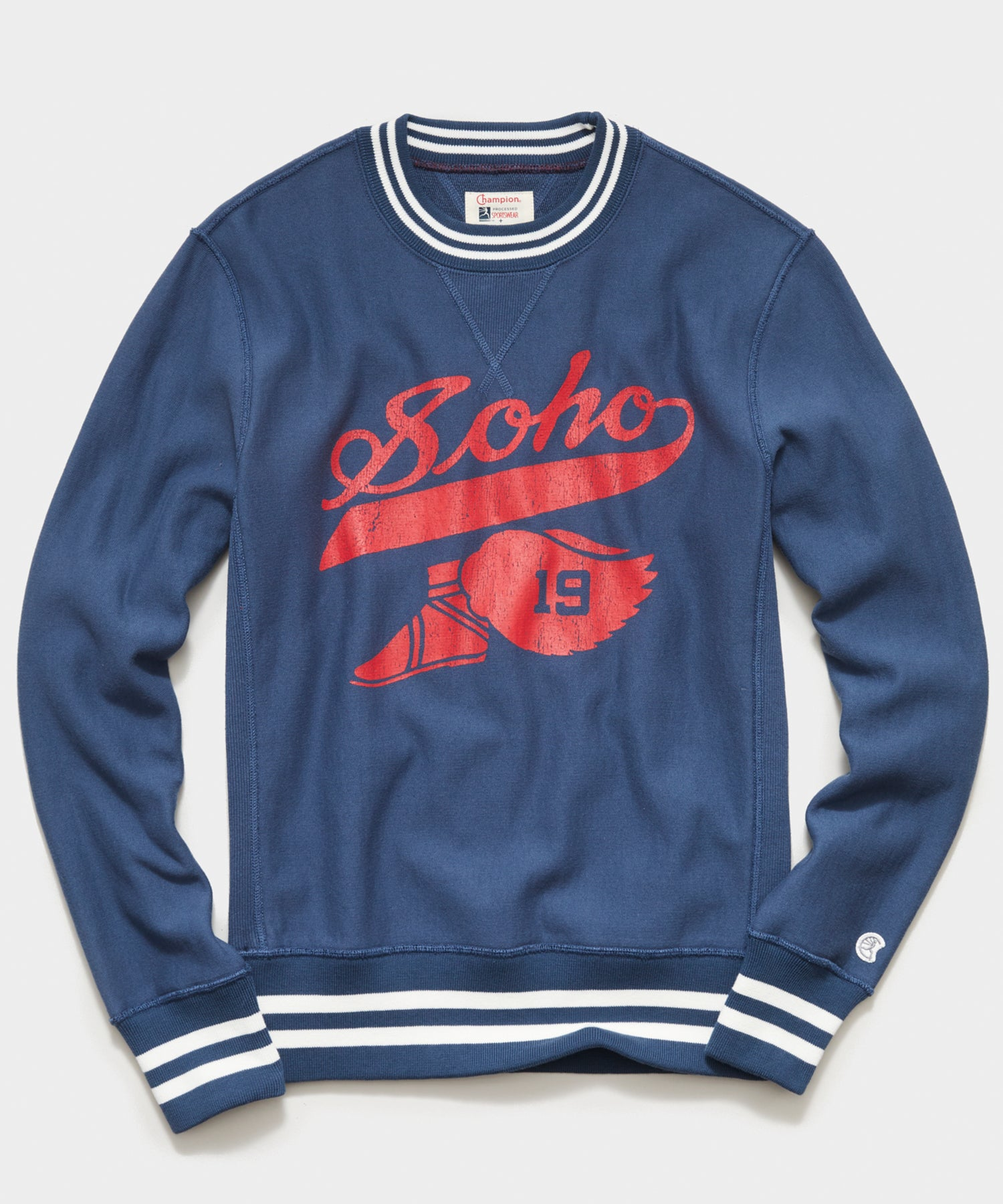 Champion Soho Sweatshirt in Navy Batik
