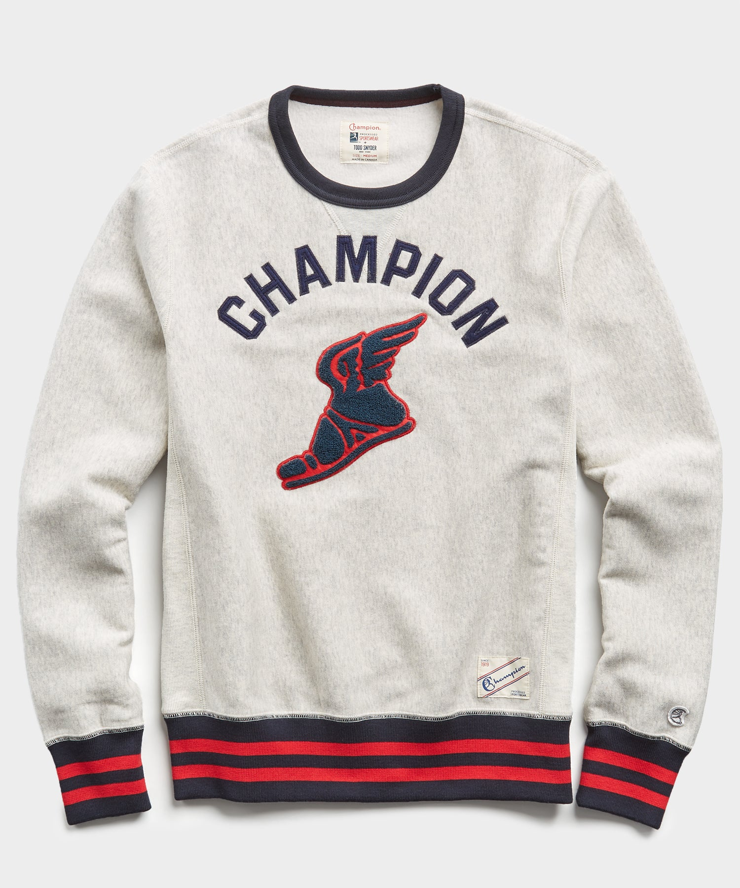 Winged Foot Reverse Weave Sweatshirt