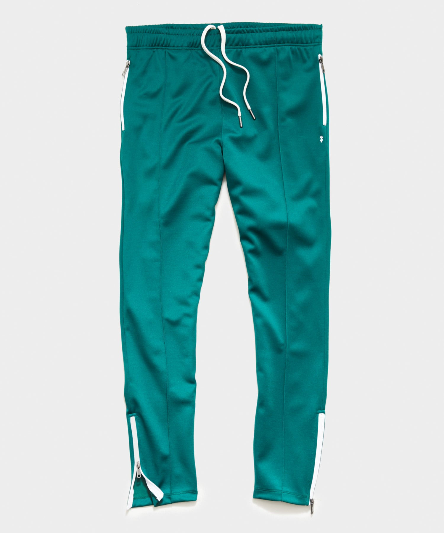 Knit Track Pant in Green