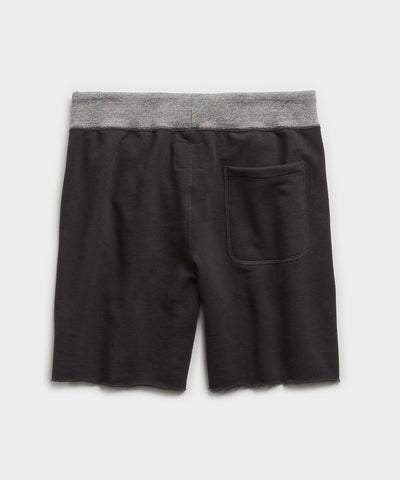 Champion Cut Off Sweatshort in Blacktop