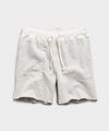 Champion Cut Off Sweatshort in Eggshell Mix