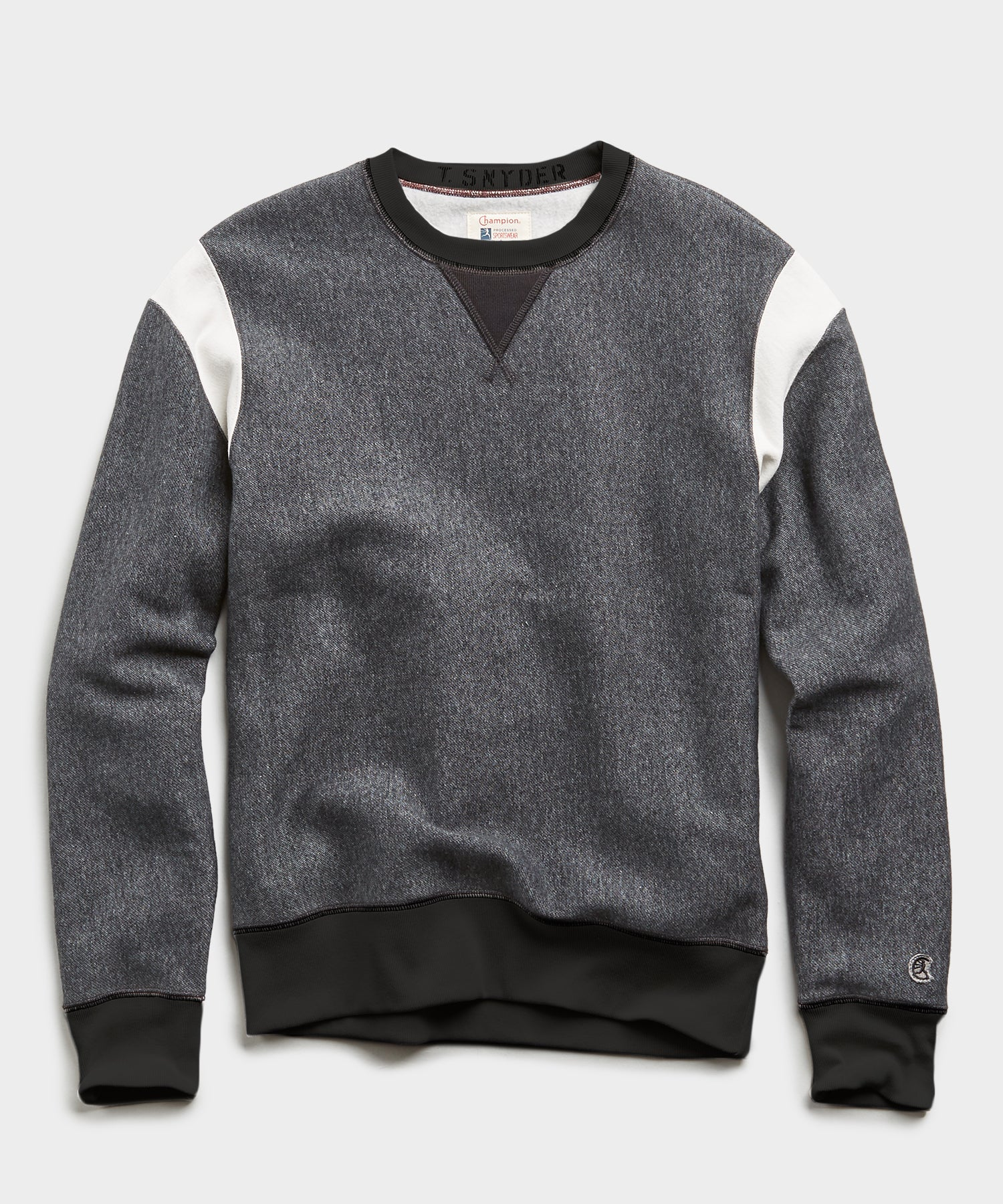 Champion Armhole Sweatshirt in Dark Charcoal Pepper