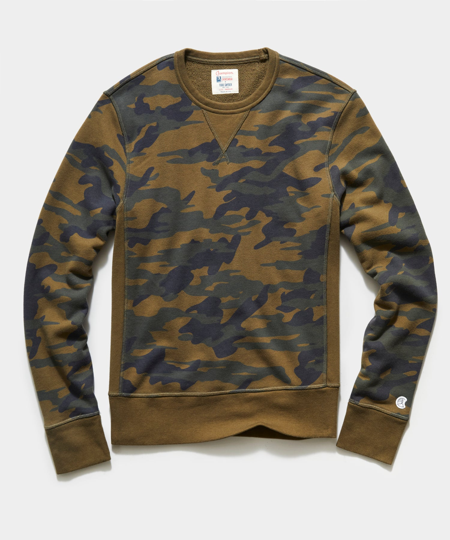 Fatigue Camo Crewneck Sweatshirt