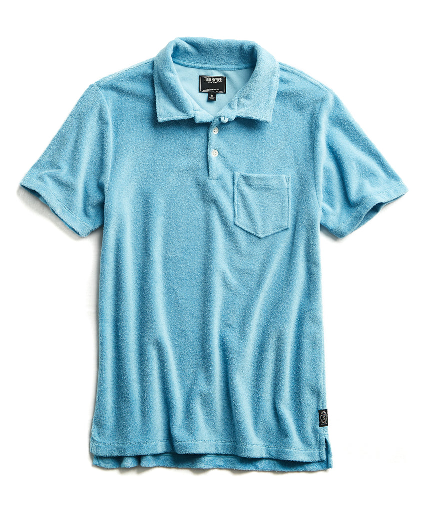 Terry Polo in Pool Blue