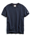 Lightweight Short Sleeve Sweatshirt in Navy