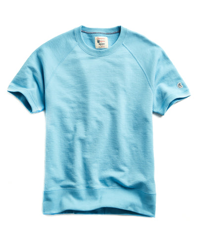 435b7e11 Terry Short Sleeve Sweatshirt in Pool Blue $88 · Quick Shop. Todd Snyder +  Champion