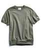 Terry Short Sleeve Sweatshirt in Olive Grove Alternate Image