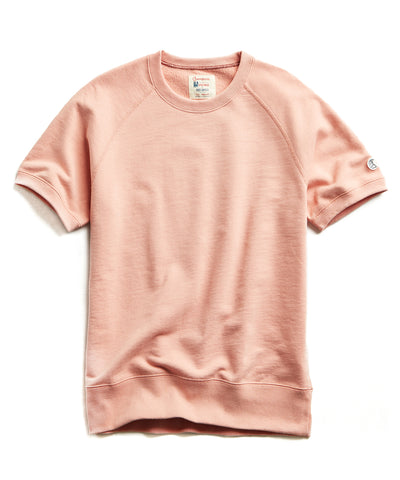 ef0128f0 Terry Short Sleeve Sweatshirt in Pale Salmon $88 · Quick Shop. Todd Snyder  + Champion