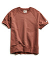 Terry Short Sleeve Sweatshirt in Rustica