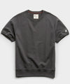 Lightweight Short Sleeve Sweatshirt in Asphalt