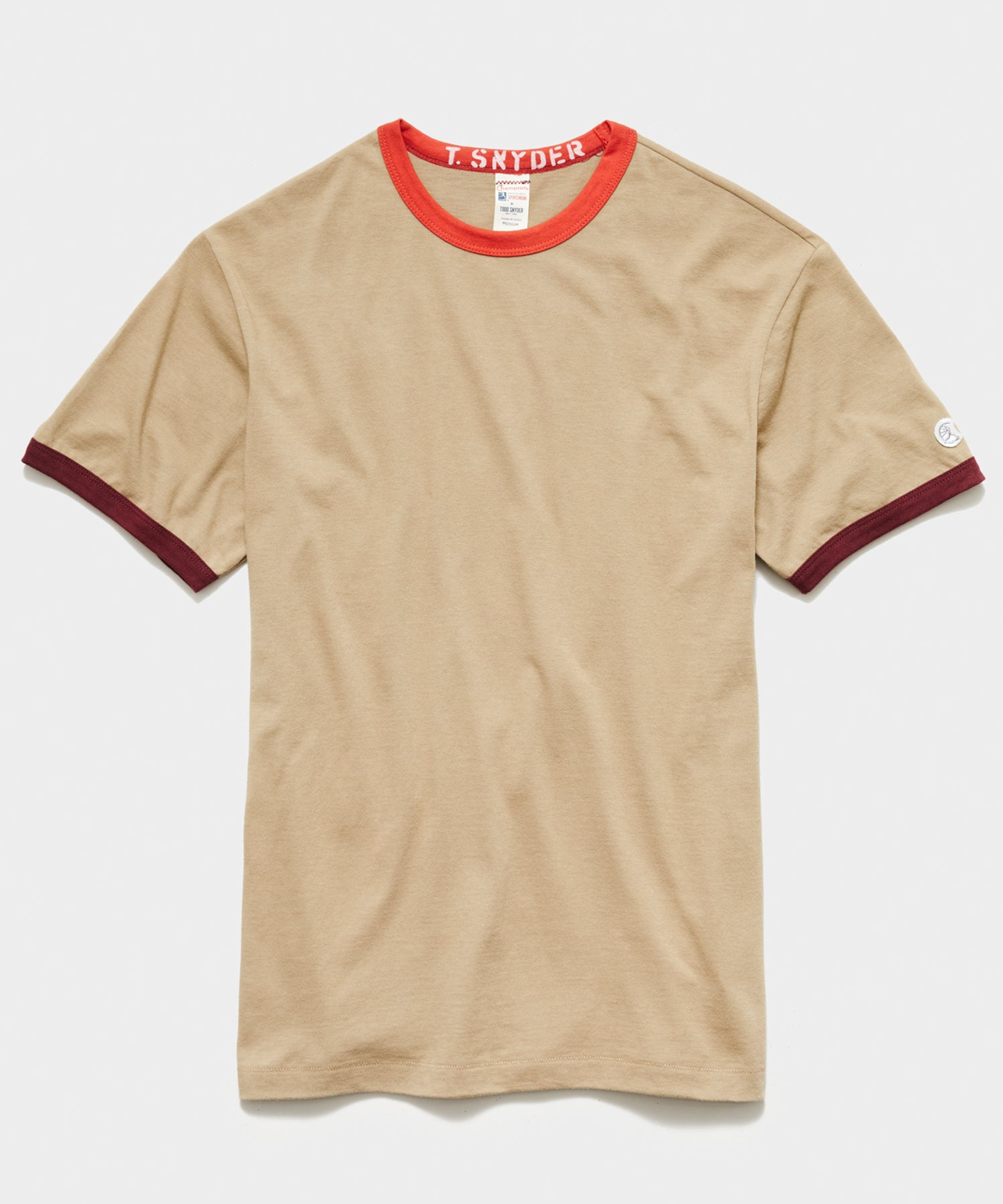 Champion Ringer Tee in Tan