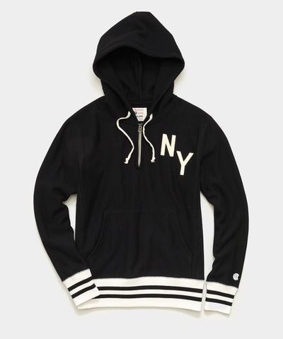 Champion New York Hoodie in Blacktop