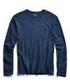 Indigo Slub Jersey Long Sleeve T-Shirt