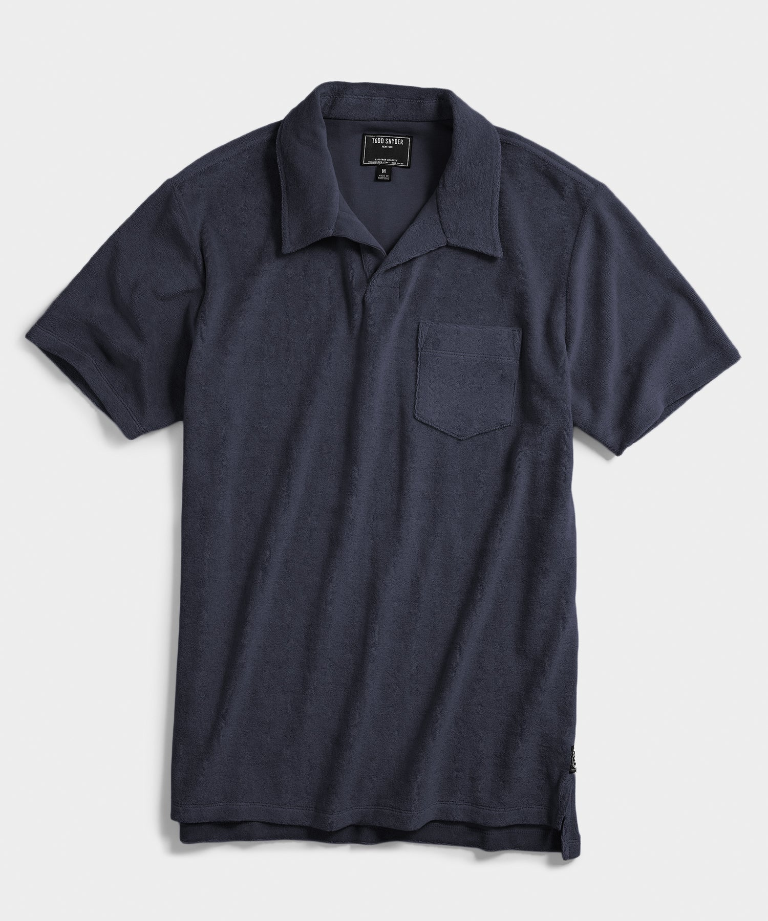 Terry Montauk Polo in Navy
