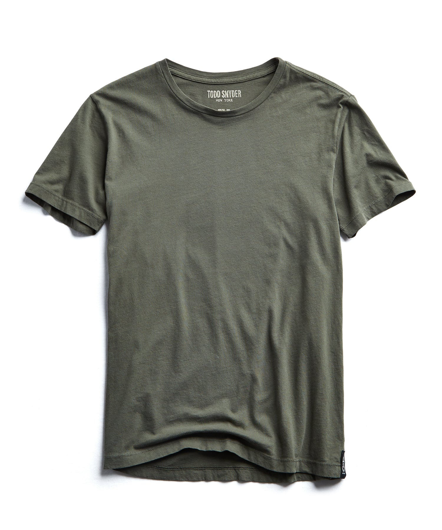 Made in L.A Broken In T-Shirt in Olive