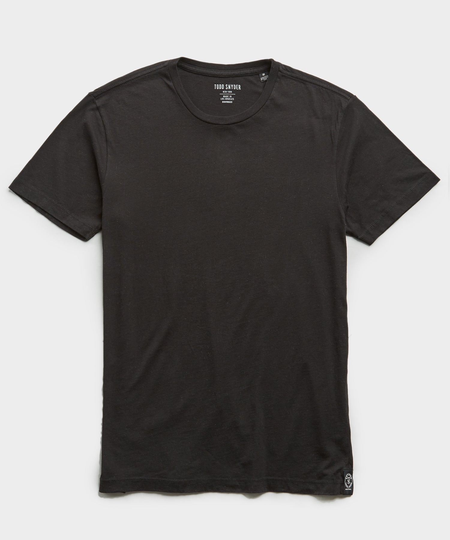Made In L.A. Classic Jersey T-Shirt in Black