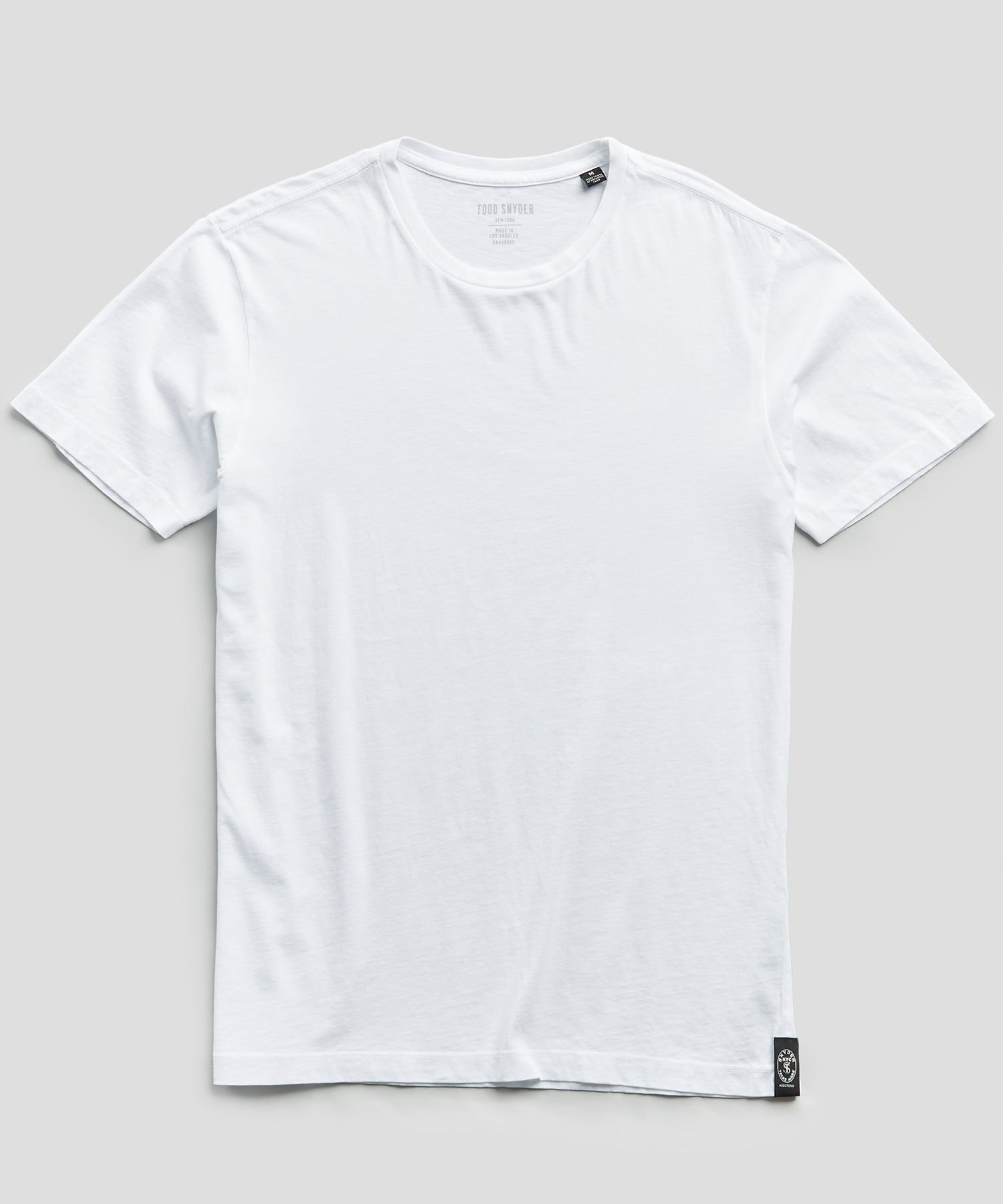 Made In L.A. Classic Jersey T-Shirt in White