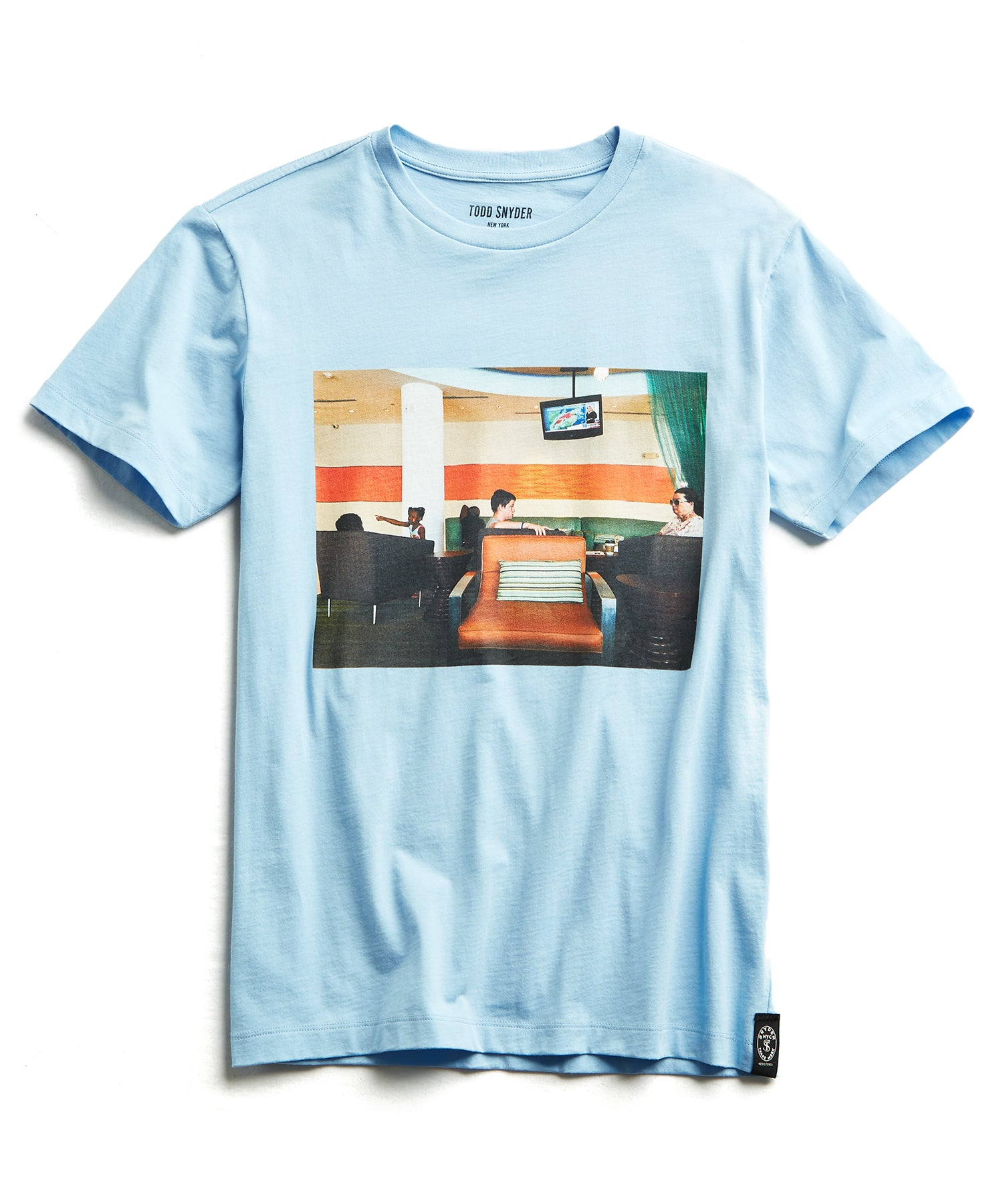 Gerry Beckley Airport Lounge Graphic T-Shirt