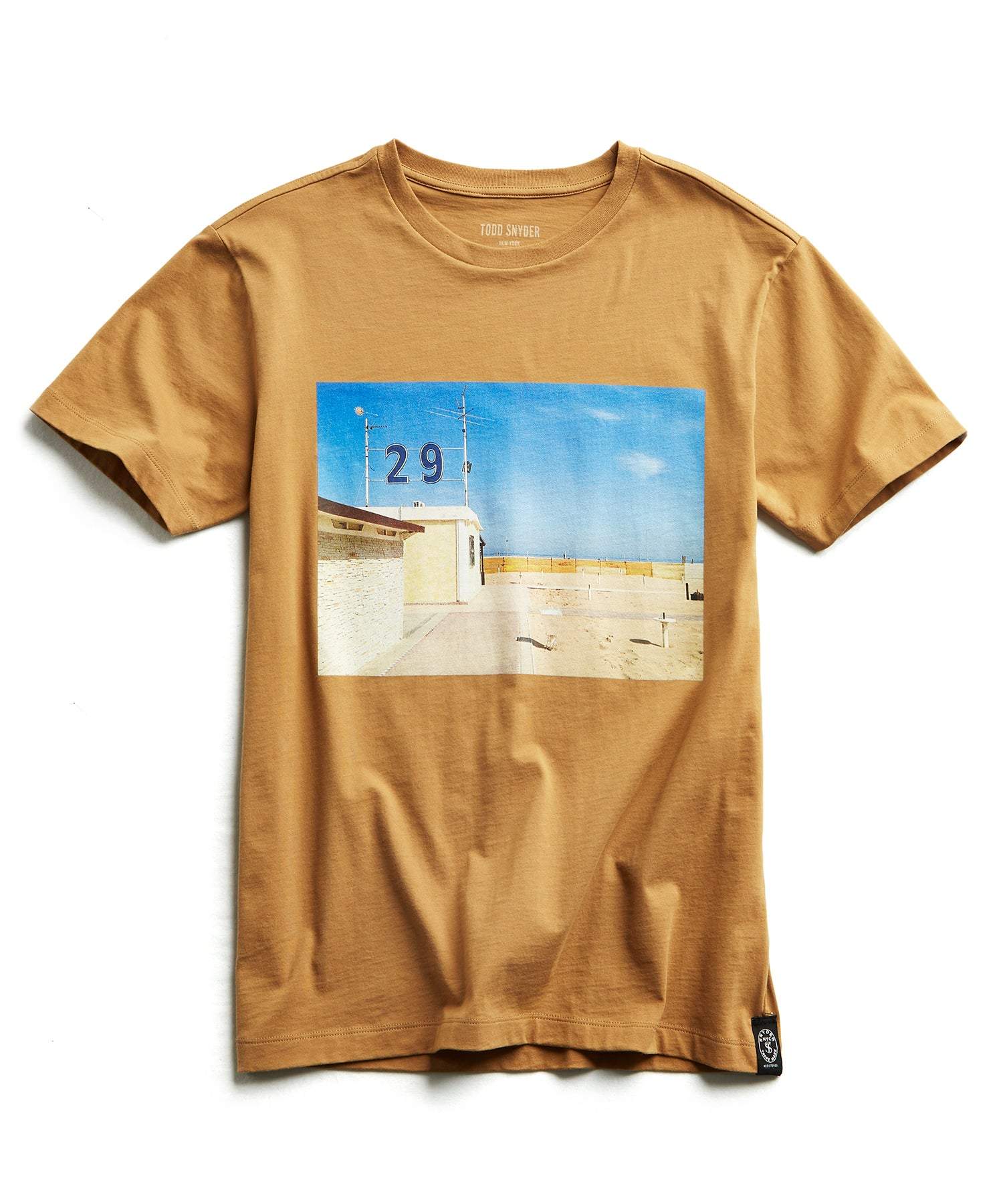 Gerry Beckley Beach in Italy Graphic T-Shirt
