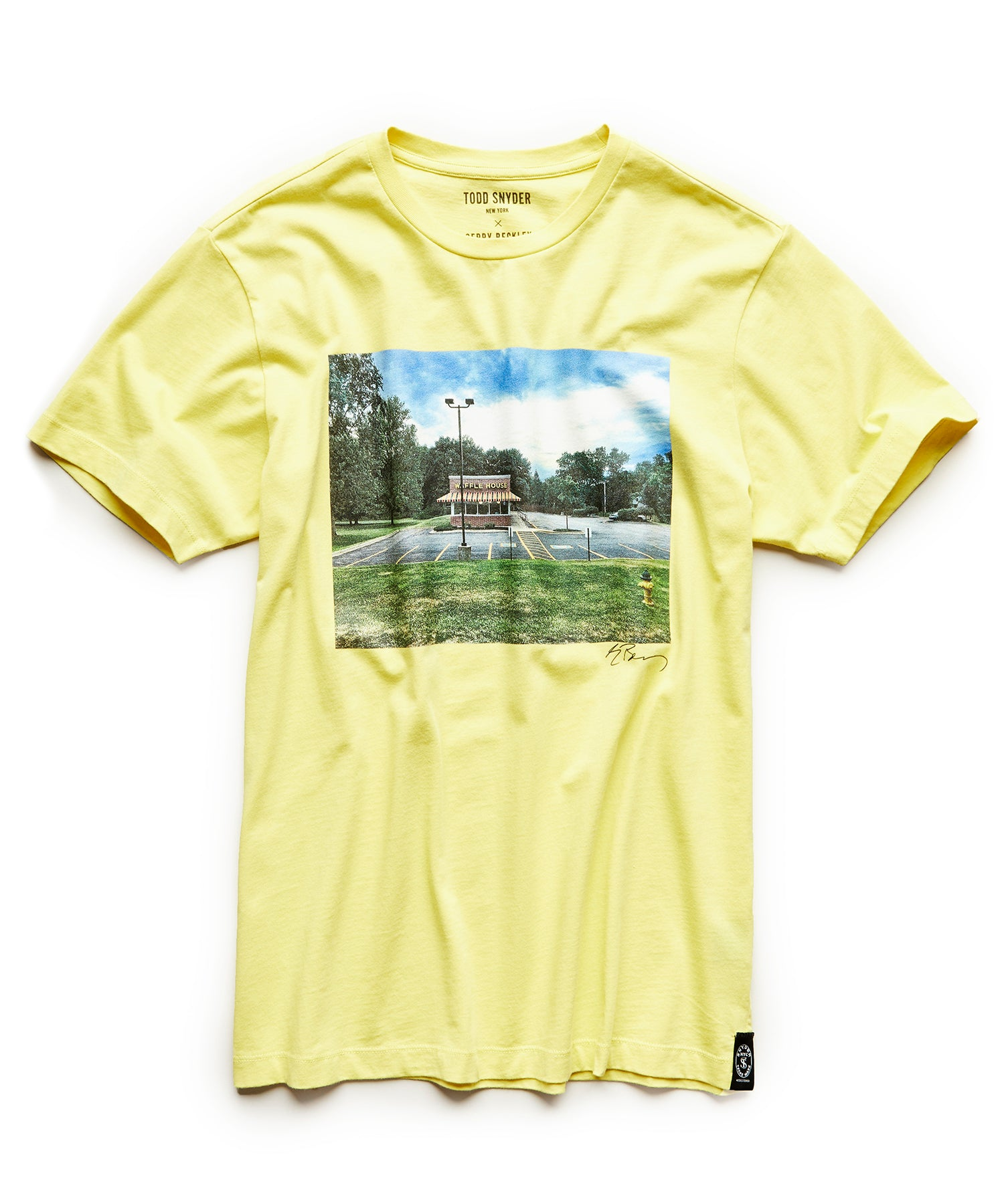 Gerry Beckley Waffle House Graphic T-Shirt