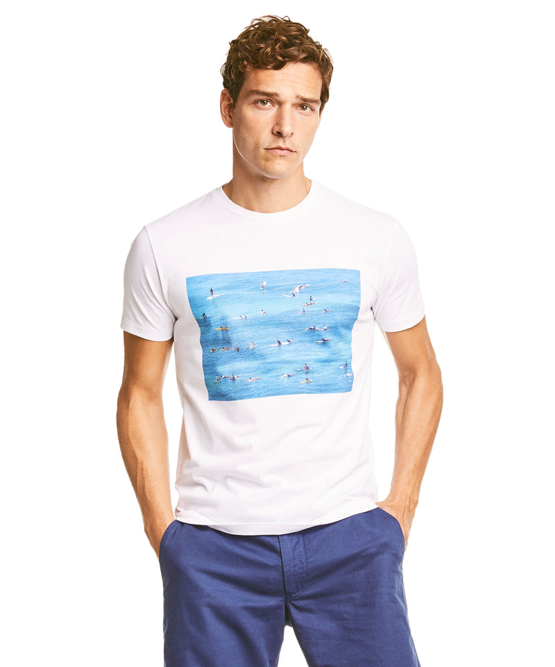 Gerry Beckley Surfers Graphic T-Shirt