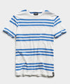 Portuguese Striped Tee in Blue