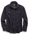 Italian Knit Cotton Wool CPO Shirt