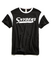 Snyder's Ringer Graphic T-Shirt in Black