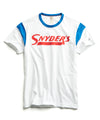 Snyder's Ringer Graphic T-Shirt in White