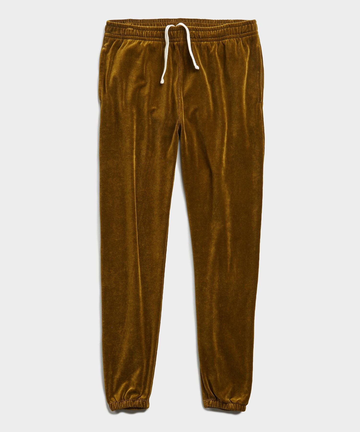 Velour Classic Fit Sweatpant in Lime