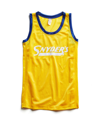 Snyder's Mesh Tank in Yellow