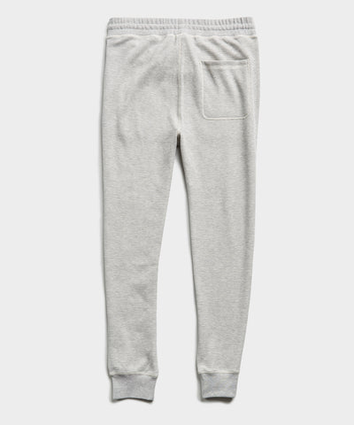 Thermal Sweatpant in Grey Heather