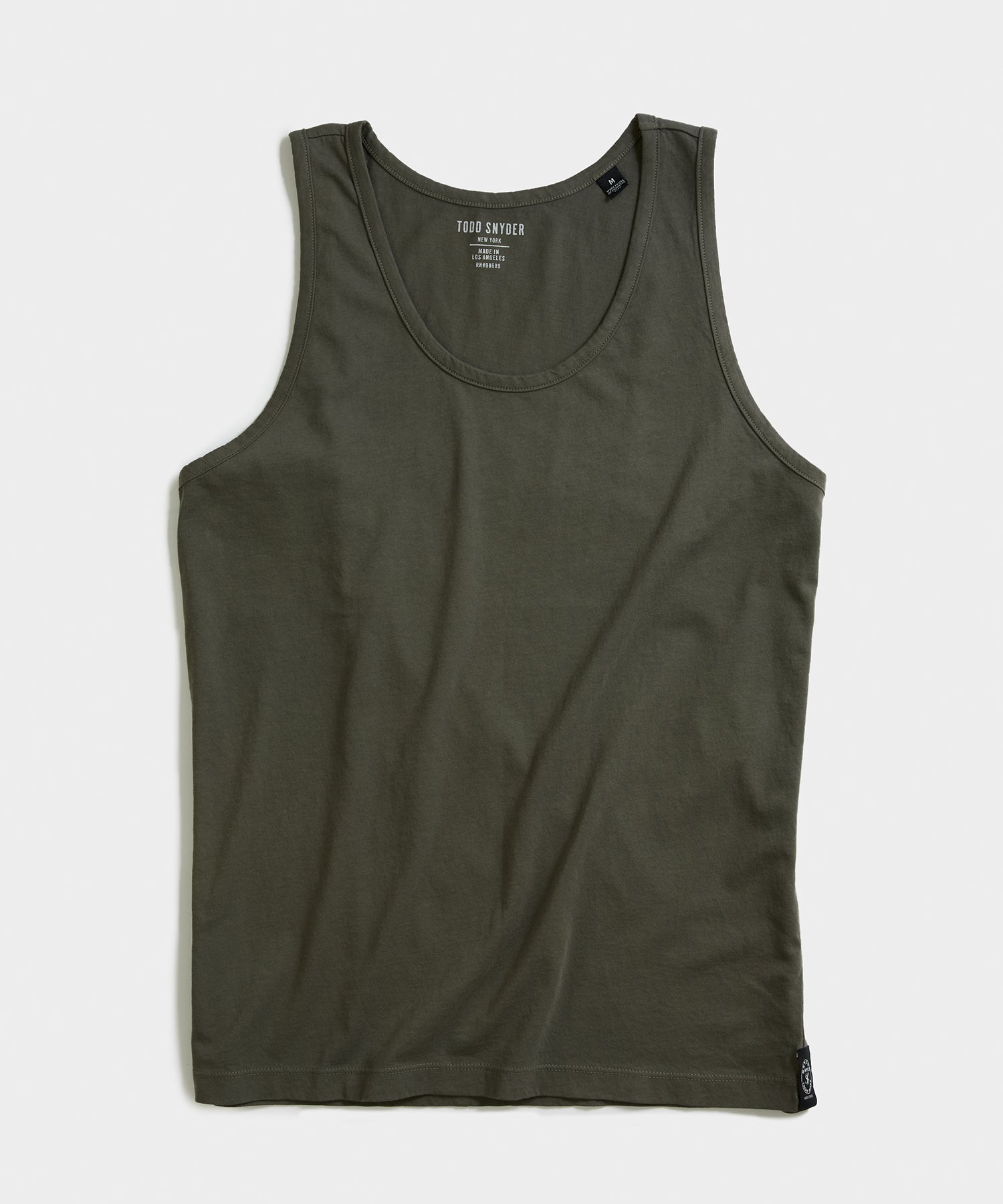 Made in L.A. Tank Top in Olive