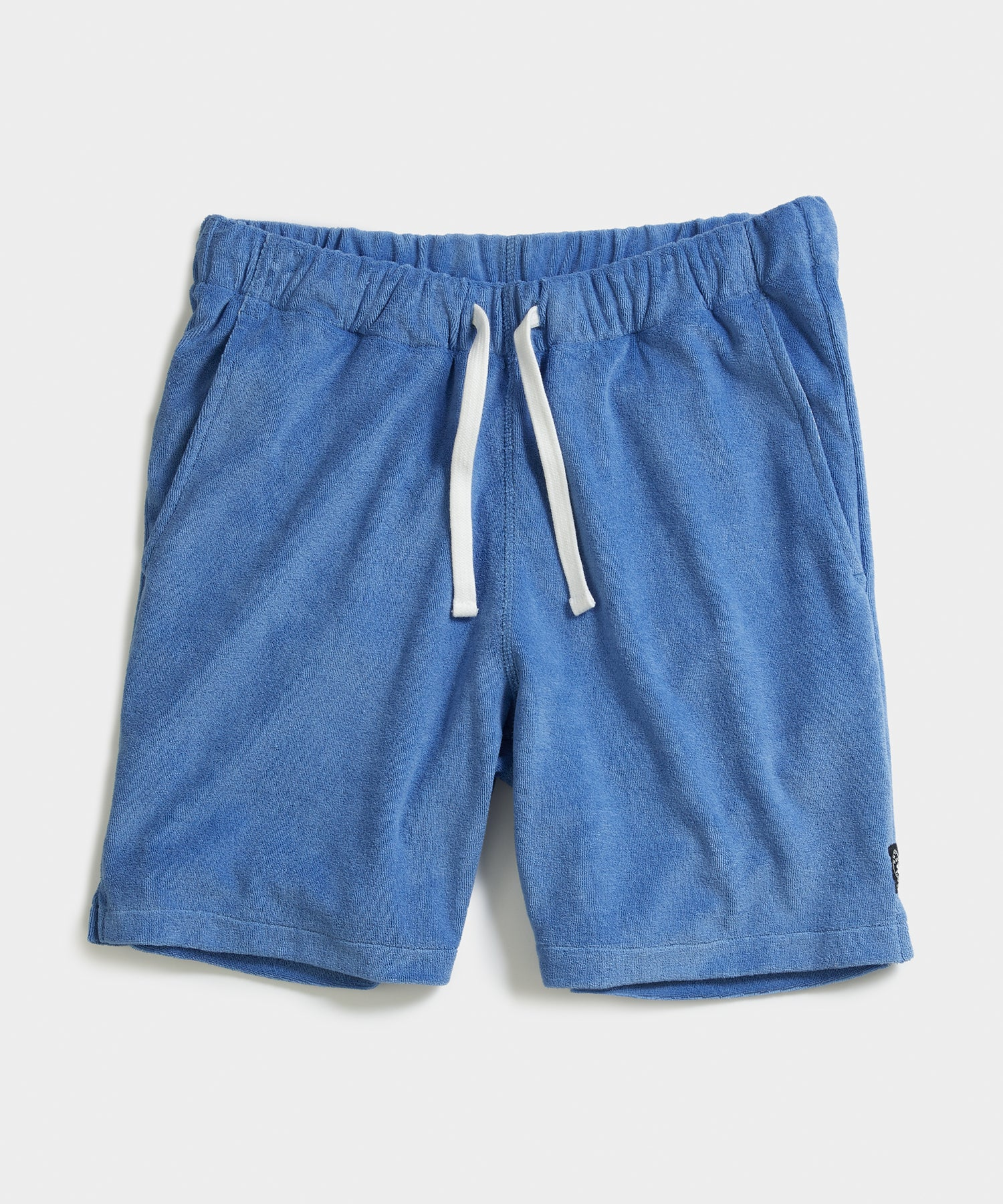 Terry Warm Up Short in Blue