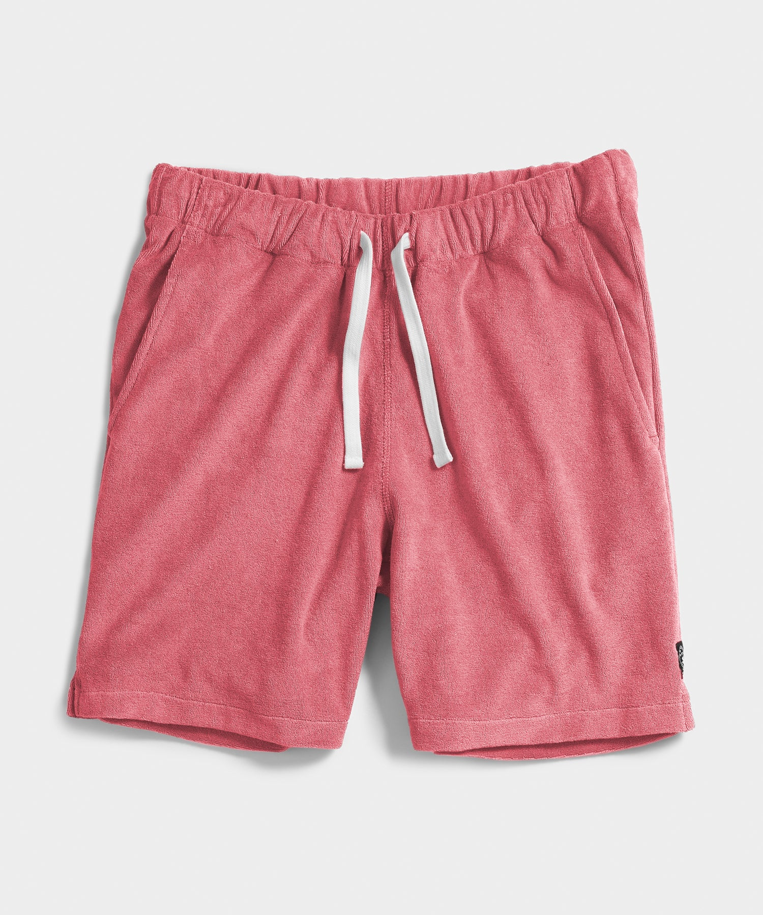 Terry Warm Up Short in Pink