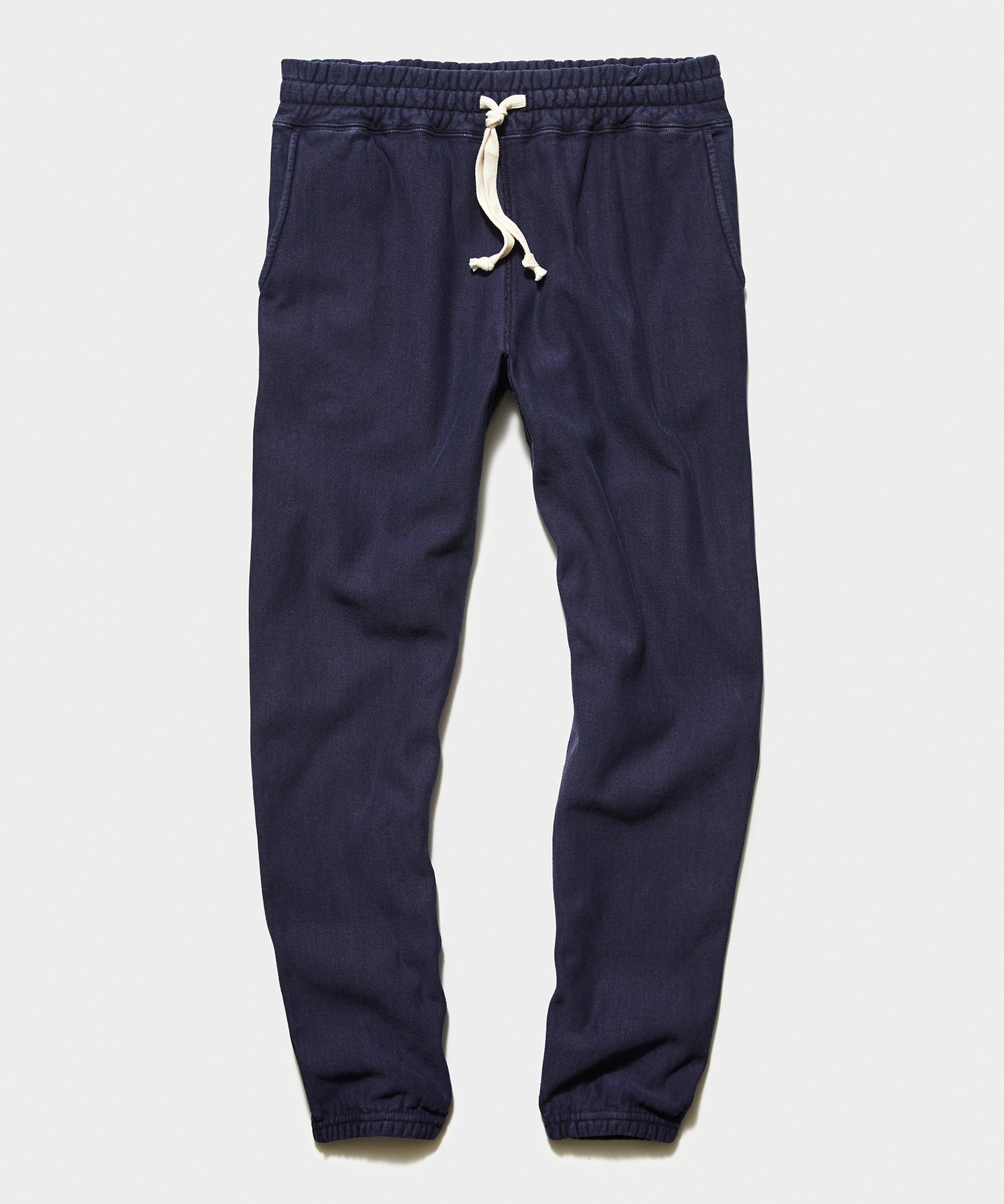 Garment Dyed Classic Sweatpant in Navy Sand