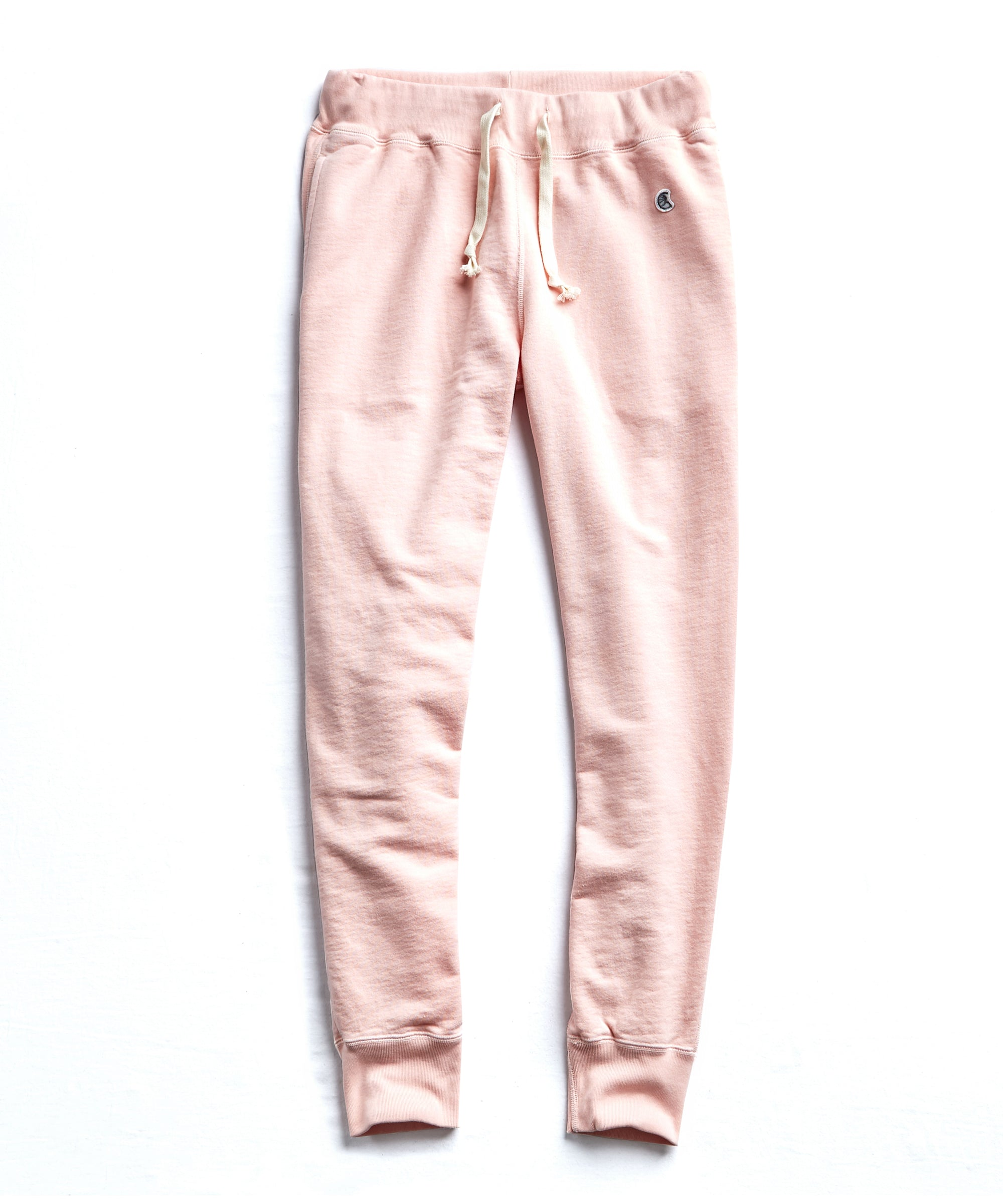 Terry Slim Jogger Sweatpant in Peony