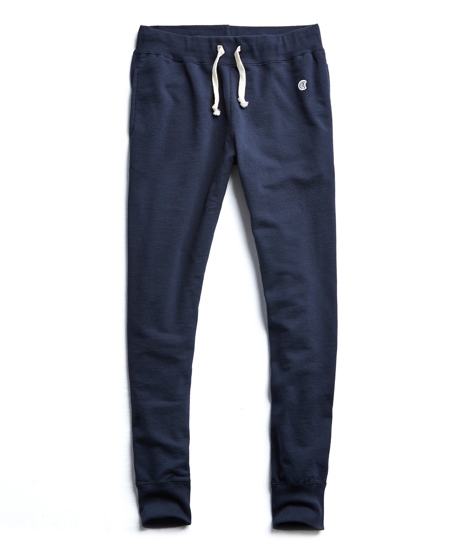 Heavyweight Slim Jogger Sweatpant in Original Navy