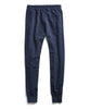 Fleece Slim Jogger Sweatpant in Navy Alternate Image