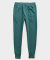 Terry Slim Jogger Sweatpant in Storm Green