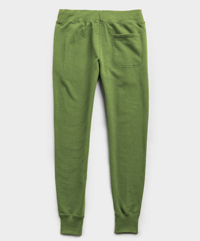 Lightweight Slim Jogger Sweatpant in Guacamole