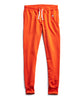 Terry Slim Jogger Sweatpants in Sunset Orange Alternate Image