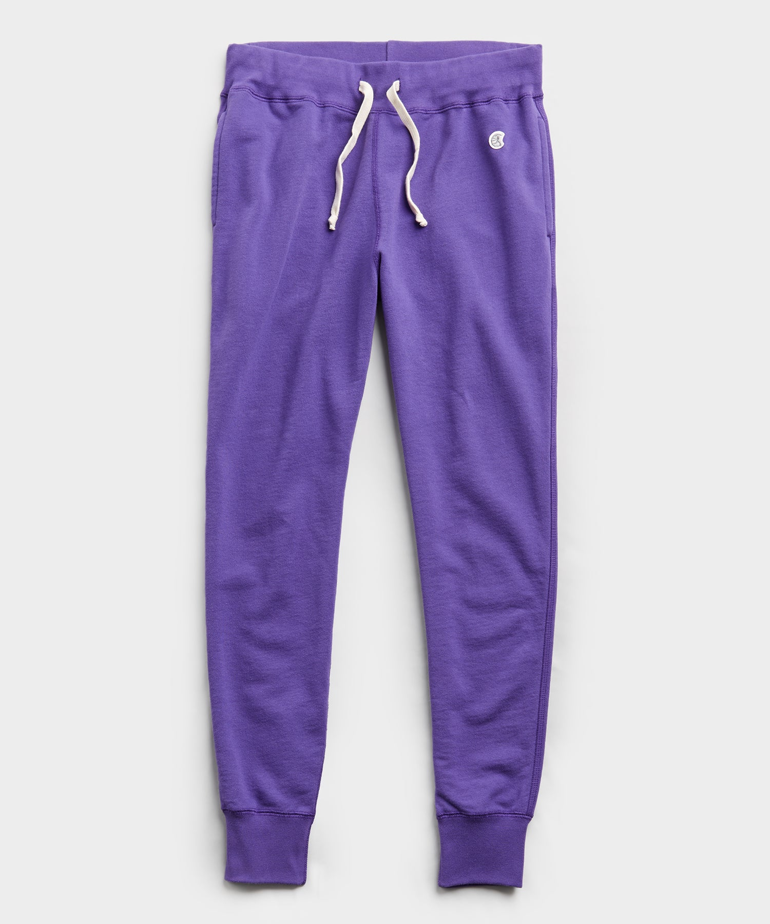 Terry Slim Jogger Sweatpant in Royal Purple